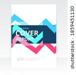 vector abstract design cover... | Shutterstock .eps vector #1859451130