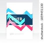 vector abstract design cover... | Shutterstock .eps vector #1859451130