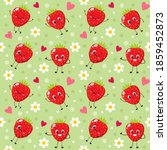 Seamless Pattern With Happy...