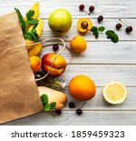 Healthy Food Background....