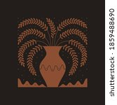 vector illustration in simple... | Shutterstock .eps vector #1859488690