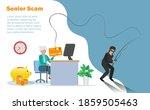 hacker online phishing credit...   Shutterstock .eps vector #1859505463
