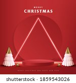 merry christmas banner with... | Shutterstock .eps vector #1859543026