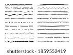 sketch underlines. crosshatch... | Shutterstock . vector #1859552419