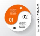 modern vector info graphic for...   Shutterstock .eps vector #185962628