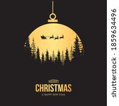 new year ball  christmas... | Shutterstock .eps vector #1859634496