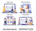 fashion stylist online service...   Shutterstock .eps vector #1859647120