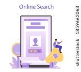 recruitment online service or... | Shutterstock .eps vector #1859662063