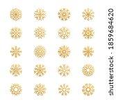 abstract snowflakes. season... | Shutterstock . vector #1859684620