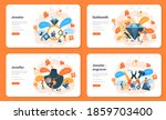 jeweler and jewelry web banner... | Shutterstock .eps vector #1859703400