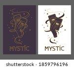 logo for a tarot reader  print... | Shutterstock .eps vector #1859796196