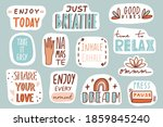 yoga  mindfulness patches... | Shutterstock .eps vector #1859845240