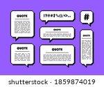 set different shape pixel... | Shutterstock .eps vector #1859874019