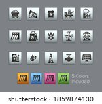 energy icons    satinbox series ... | Shutterstock .eps vector #1859874130