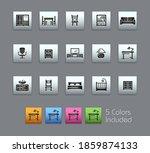 furniture icons    satinbox... | Shutterstock .eps vector #1859874133