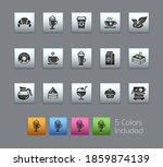 coffee shop icons    satinbox... | Shutterstock .eps vector #1859874139