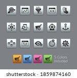 seo and digital martketing... | Shutterstock .eps vector #1859874160