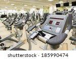 exercise machine | Shutterstock . vector #185990474