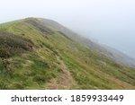 Welsh Cliffside By The Ocean