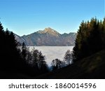 View Of Storzic Mountain In...