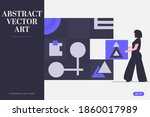 the vector useable object of... | Shutterstock .eps vector #1860017989