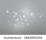 glowing light effect. shining... | Shutterstock .eps vector #1860085246