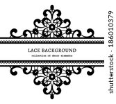 Black And White Lace Backgroun...