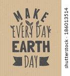 typographic design poster for... | Shutterstock .eps vector #186013514
