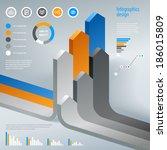 modern infographics vector... | Shutterstock .eps vector #186015809