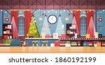 empty no people santa claus... | Shutterstock .eps vector #1860192199