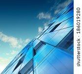 skyscraper abstract concept.... | Shutterstock . vector #186019280