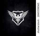 eagle tactical logo  bird... | Shutterstock .eps vector #1860208060
