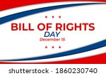 bill of rights day in the... | Shutterstock .eps vector #1860230740