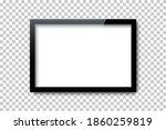 black rectangle frame template... | Shutterstock .eps vector #1860259819
