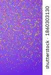 festive optimal confetti.... | Shutterstock .eps vector #1860303130