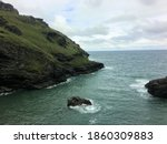 A View Of The Cornish Coast At...