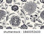 Vintage Seamless Pattern....