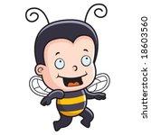 bee kid | Shutterstock .eps vector #18603560