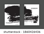 vector  grunge flyer template...   Shutterstock .eps vector #1860426436