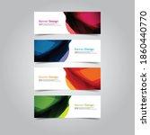 vector abstract banner web... | Shutterstock .eps vector #1860440770