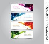 vector abstract banner web... | Shutterstock .eps vector #1860448510