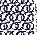 seamless snakes pattern in...   Shutterstock .eps vector #1860471976