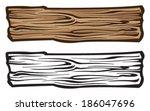 wood plank | Shutterstock .eps vector #186047696