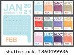 2021 Calendar Planner Set For...
