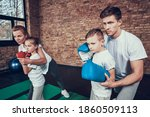 Sport Family Have Boxing...