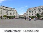 thessaloniki  greece   july 01  ... | Shutterstock . vector #186051320