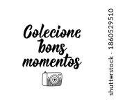 brazilian lettering.... | Shutterstock .eps vector #1860529510