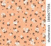 vintage floral background.... | Shutterstock .eps vector #1860677356