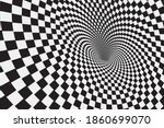 Tunnel Or Wormhole. Digital...
