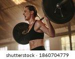 Female Bodybuilder Doing...